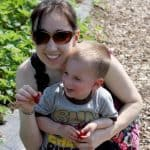 Me & The Bug Strawberry Picking