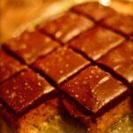 Salted Caramel PB Krispie Bars
