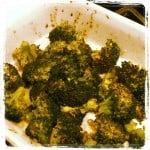 Day 8 Vegetable Roasted Broccoli