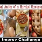 March Improv Challenge: Potato Goat Cheese Gratin