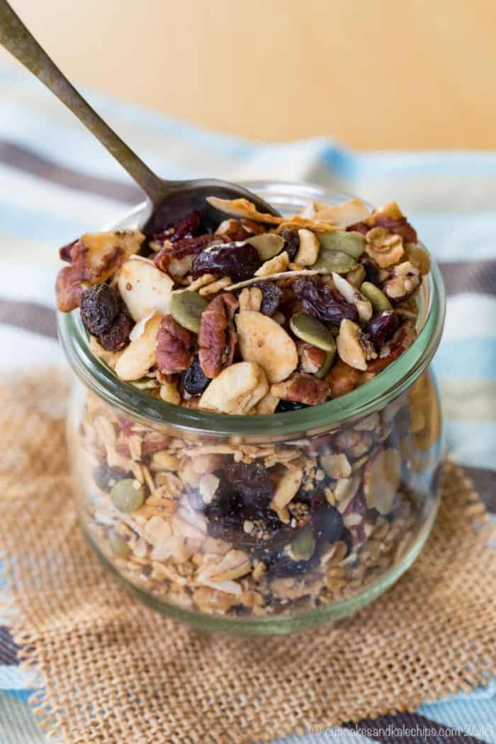 Homemade Gluten-Free Granola Recipe