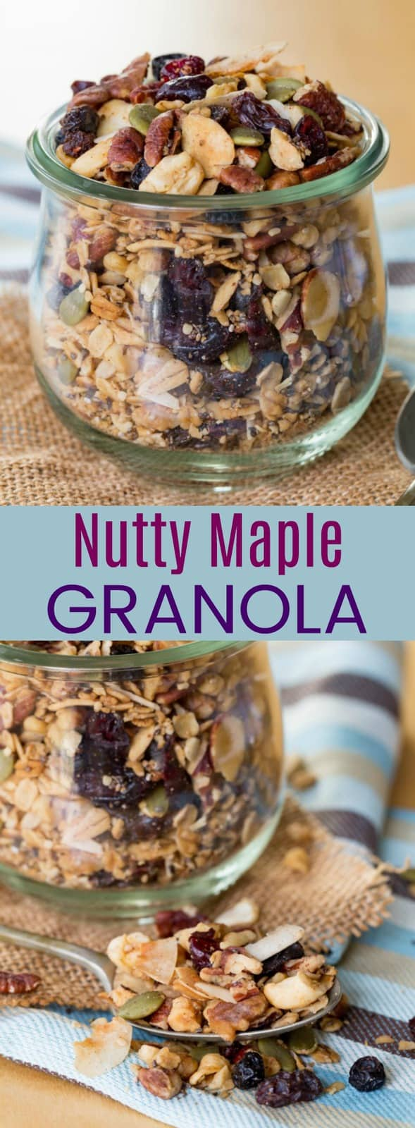 Nutty Maple Granola Recipe from Cupcakes and Kale Chips