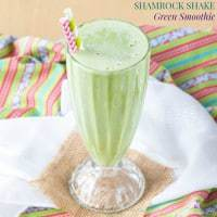 Shamrock Shake Green Smoothie recipe-5876 title