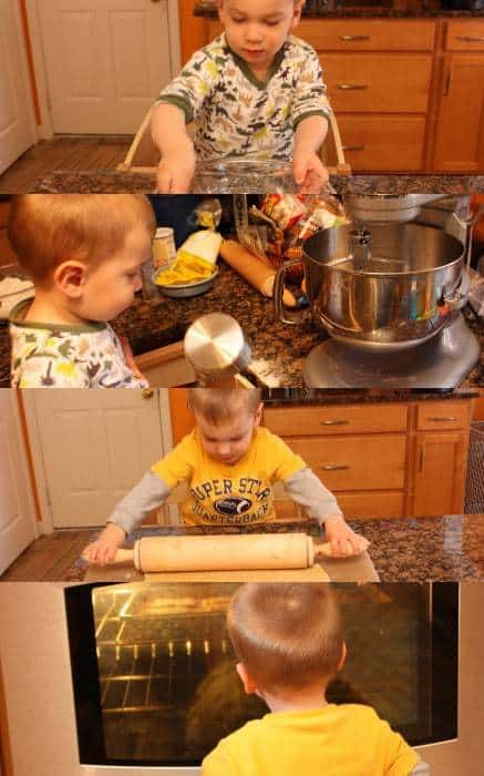 Sugar Cookie Baking with The Bug