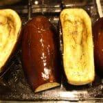 Eggplant shells