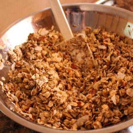 Granola that's Kinda Nutty (to power through business trips that are also kinda nutty)