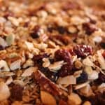Maple Nutty Granola closeup