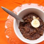 Chocolate Almond Banana Oatmeal
