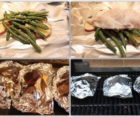 Lemony Chicken Foil Packets and Firing Up the Grill