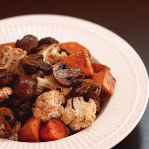 Balsamic Roasted Vegetables 1