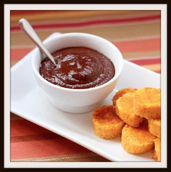 Balsamic Ketchup | cupcakesandkalechips.com | #dip #glutenfree #vegan