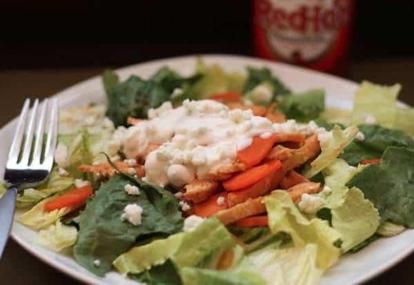 Buffalo Chicken Salad Wide