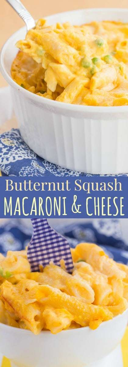 Butternut Squash Macaroni and Cheese - Cupcakes & Kale Chips