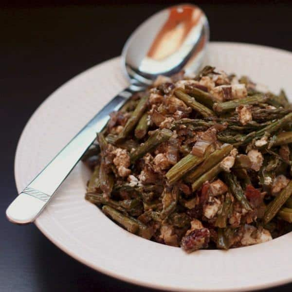 Caramelized Leek and Asparagis Salad 1