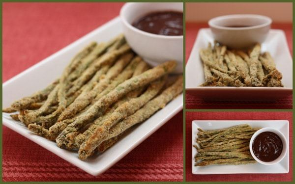 Cornmeal Crusted Asparagus Collage 1
