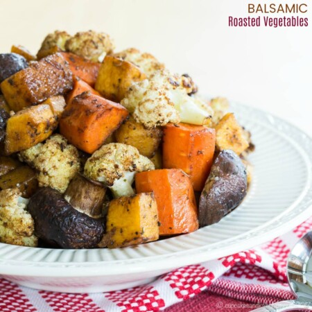 How to Make Balsamic Roasted Vegetables