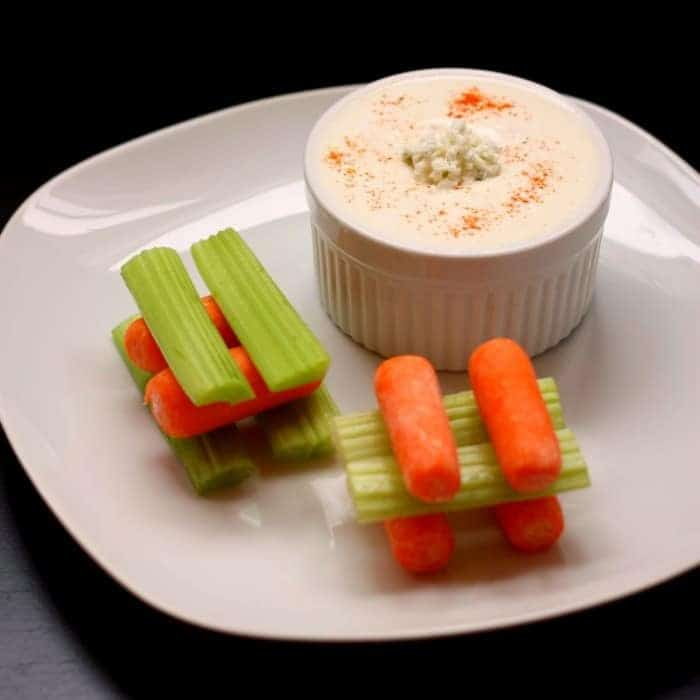 Greek Yogurt Blue Cheese Dip and Dressing