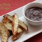 Italian Herb Oven Fries