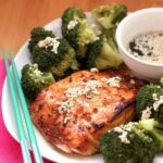Maple Sesame Glazed Salmon – Holiday Recipe Club