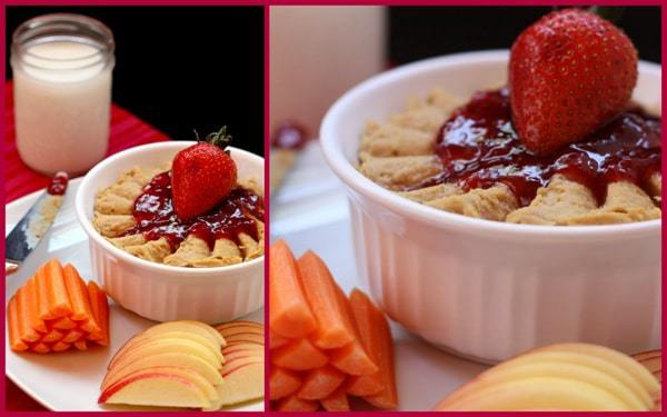PB J Hummus Dip Collage 2