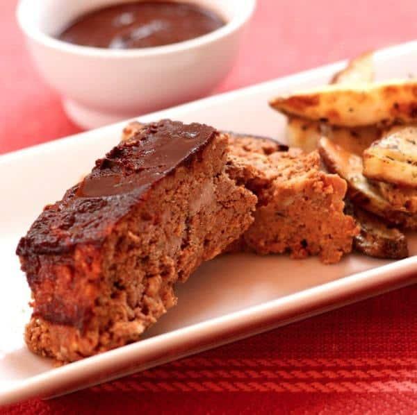 Roasted Veggie and Balsamic Meatloaf 3
