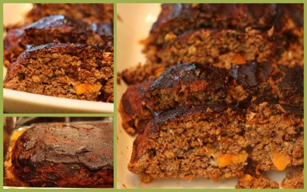 Roasted Veggie and Balsamic Meatloaf collage