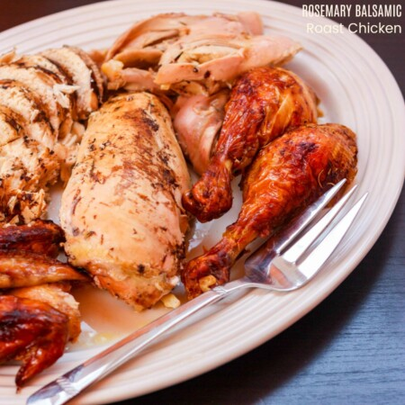 Rosemary Balsamic Roast Chicken