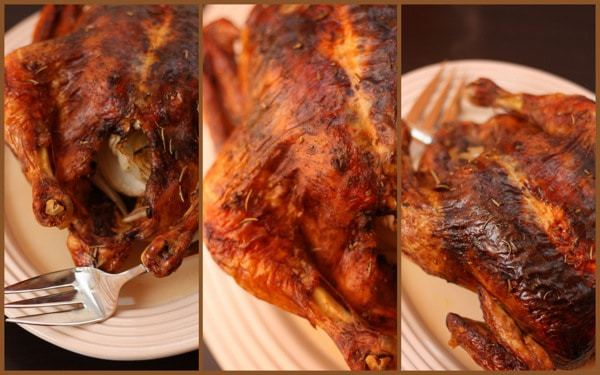 Rosemary Balsamic Roast Chicken collage