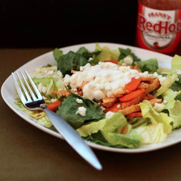 Skinny Buffalo Chicken Salad 1