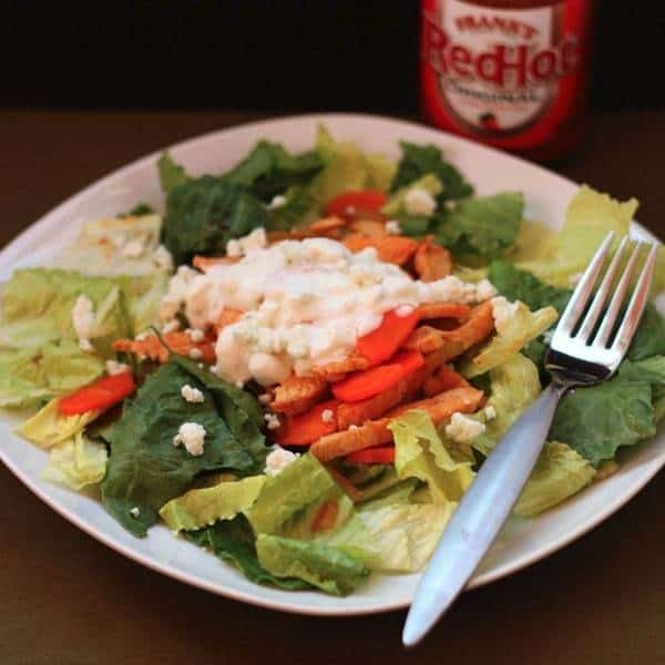 Skinny Buffalo Chicken Salad 2