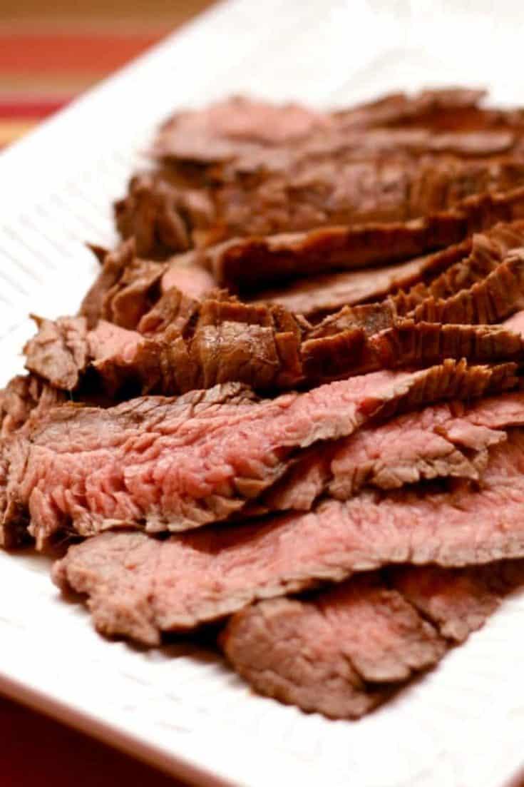 Grilled Balsamic Marinated Flank Steak