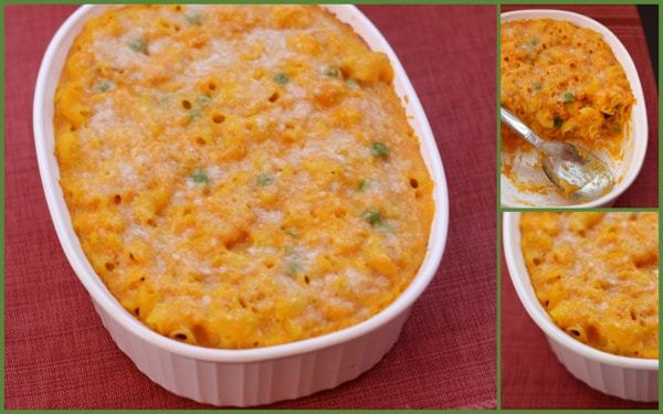 Two Cheese Butternut Squash Mac Cheese Collage