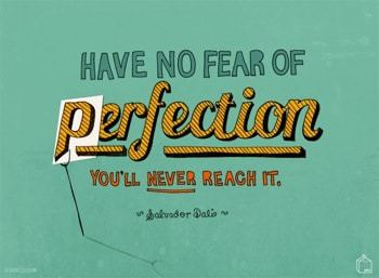 Fear of perfection