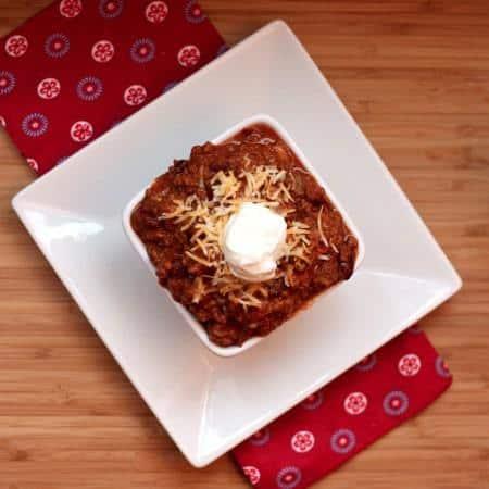 Bill's Chili - aka the World's Best Chili recipe ever! Gluten free, low carb.