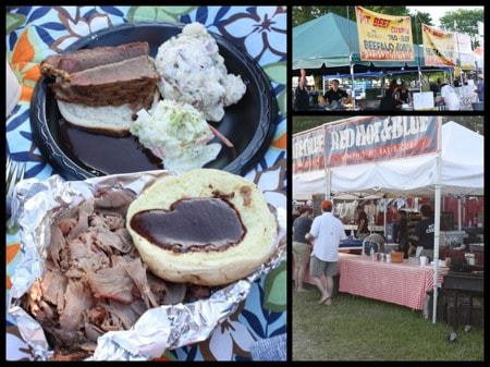 Blues Festival Food