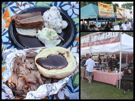 Blues Festival Food