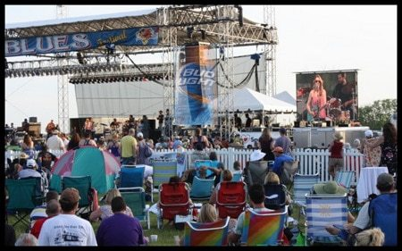 Blues Festival stage