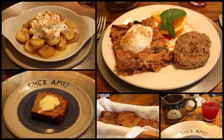 Chez Amis breakfast