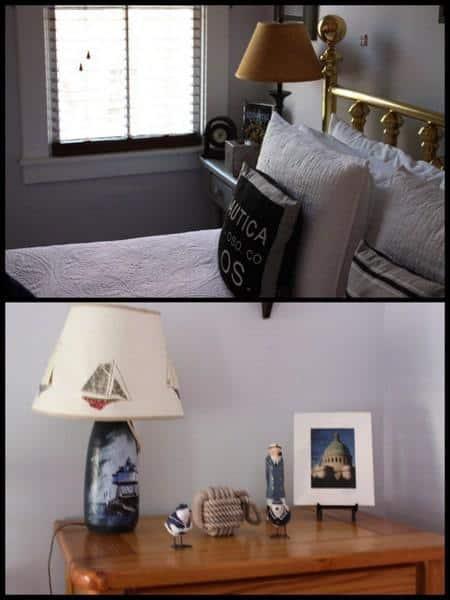 Chez Amis room