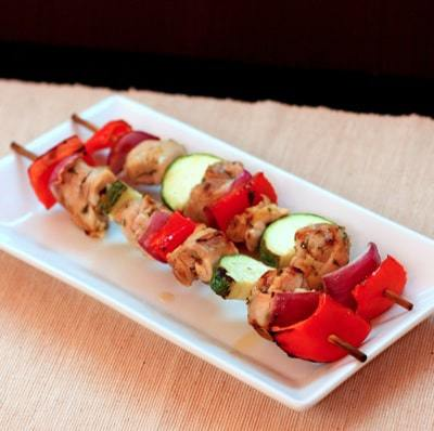 Chicken Souvlaki Skewers 1