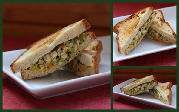 Chicken and Broccoli Grilled Cheese2