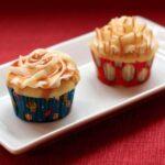 Peanuts & Cracker Jack Cupcakes