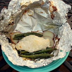 Lemony Chicken Foil Packets