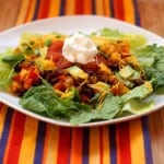 Cinco de Mayo Recipe Remix – Mexican Black Bean Taco Salads