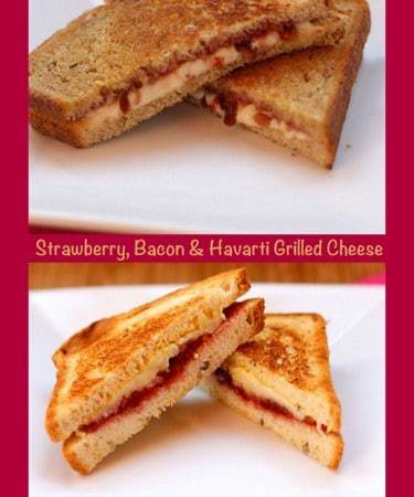 Strawberry, Bacon & Havarti Grilled Cheese (and a gluten-free option)