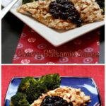 This almond crusted chicken is so easy to make and delicious.