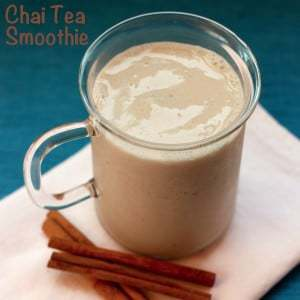 Chai Tea Smoothie | cupcakesandkalechips.com | #chaitea #glutenfree #vegan