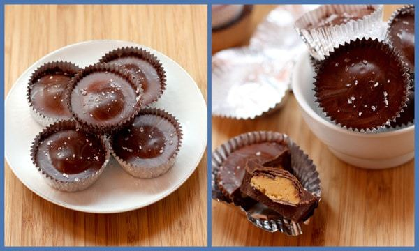 Grown Up Peanut Butter Cups collage 1