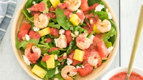 Fruity Grilled Shrimp Salad
