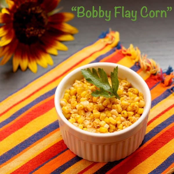 """Bobby Flay Corn"" with Chili & Lime 